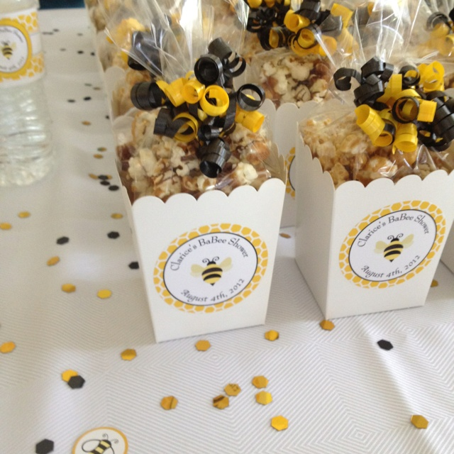 Bumble Bee Popcorn Treats