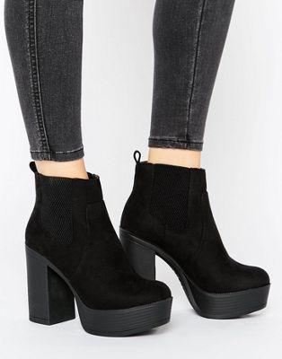BOTAS DE ANTELINA CON PLATAFORMA DE NEW LOOK #fashion #trend #style #onlineshop #shoptagr