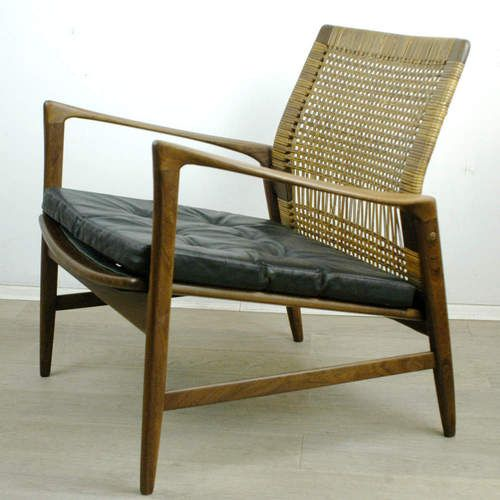 "Rare ""Are"" Teak Easy Chair by Ib Kofod Larsen - Ib Kofod-Larsen - OPE"