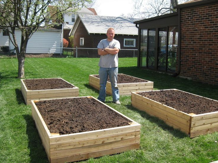 Backyard Garden Box Design garden box ideas 1000 images about raised gardens on pinterest gardens raised style Pallet Vegetable Garden Box Ideas