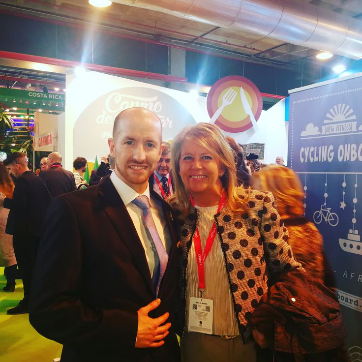 💂 Grand Prince Jorge Rurikovich and The Major of Marbella Maria Angeles Muñoz Uriol at Fitur, International Turism Fair 🤠 #fitur  #marbella  #major  #fitur2018  #malaga  #rurik  #rurikovich  #princejorgerurikovich  #jorgerurikovich  #rurikdynasty  #turismo  #tourism  #travel  #trip  #fly  #high  #enjoy  #culture  #social  #party  #amazing  #life  #lifestyle  #vip  #power  #cute  #gentleman  #good  #instamood  #happy