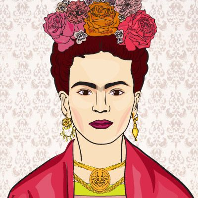 frida kahlo ilustrações - Buscar con Google