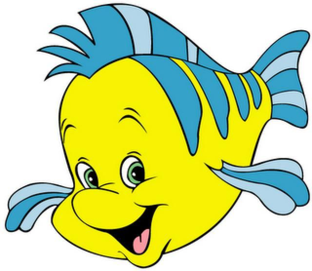 Resultado de imagen para sebastian y flounder la sirenita