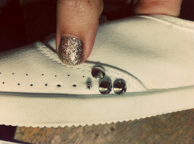 DIY SPIKE SHOES #2