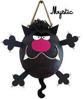 Negro Piñata Cat
