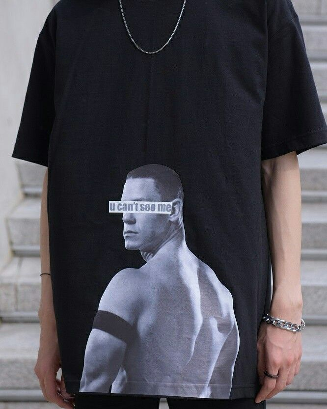 2017ss 1st drop T-Shirts John Cena Printing T-Shirts 반팔티셔츠 프린팅티셔츠 프린팅 스트릿 스트릿패션 오버핏  http://www.powit.co.kr