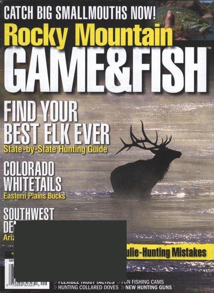 Rocky Mountain Game u0026 Fish Magazine Subscription
