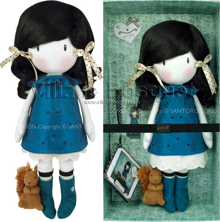 GORJUSS DOLL POUPEE EN CHIFFON YOU BROUGHT ME LOVE - Poupée en chiffon Gorjuss