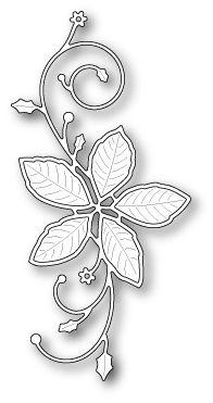Memory Box - Die - Poinsettia Flourish,$15.00