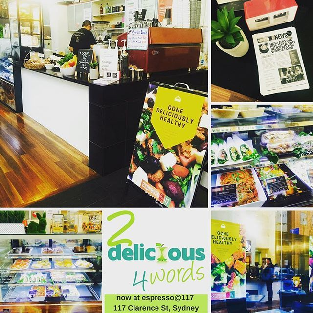 Delicious whole foods now being served at espresso@117 - 117 Clarence Street, Sydney. #wholefoods #sydneyeats #sydneycafe #cafe