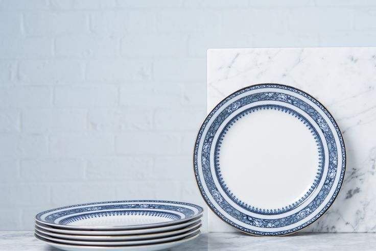 Floral Blue Starter Plates Vintage.   Explore interior design inspiration and shop vintage furniture, antique furniture, contemporary furniture and mid-century designs.