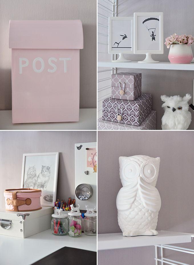Girl´s room storage