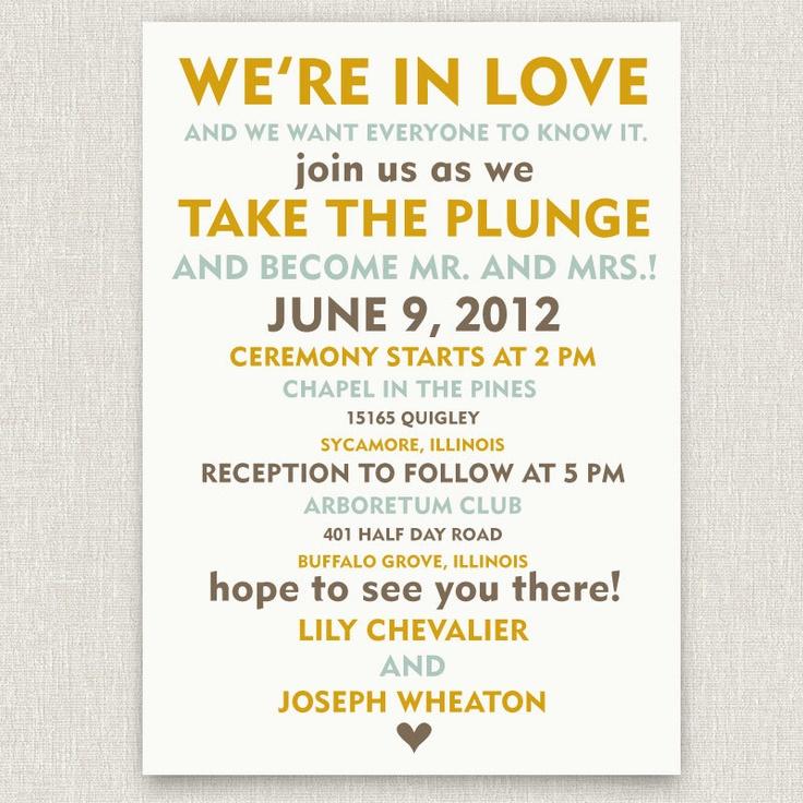 Offbeat Bride Invitation Wording is perfect invitations template