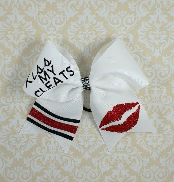 www.thatsparkleshop.com  softball hairbow