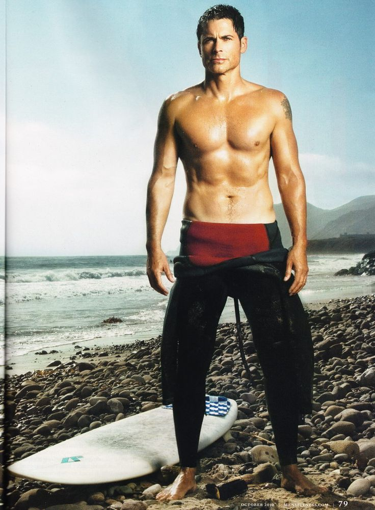Rob Lowe.... In my mind I'm taking those pants off the rest of the way.
