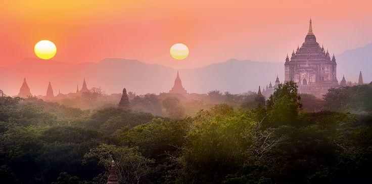 Plaine de Bagan - Birmanie