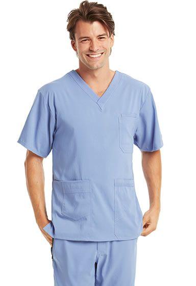 KD110 Men's 7 Pocket V-Neck Top. Shop Now: http://www.nationalscrubs.com/KD110-Barco-Uniform-Scrubs-s/120576.htm