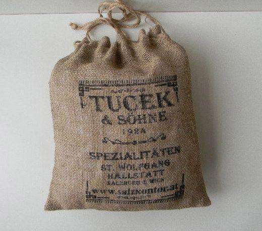 28 best burlap images on pinterest burlap sacks burlap for Decorative burlap bags