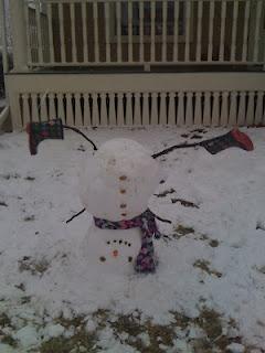 Snowman fun