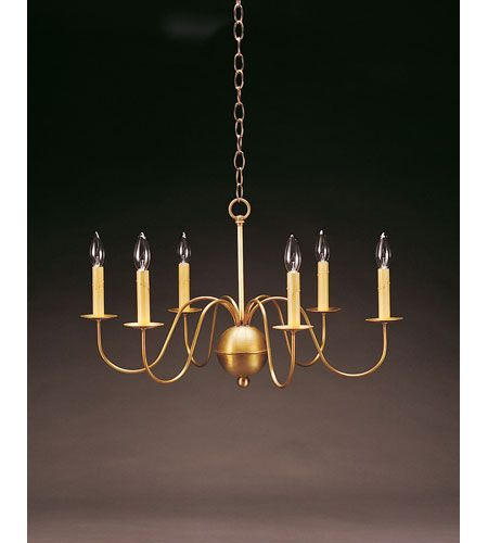 Northeast Lantern 969-AB-LT6 Signature 6 Light 26 inch Antique Brass Chandelier Ceiling Light #LightingNewYork