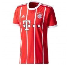 adidas Bayern Munich Home Jersey 17/18 - True Red/White