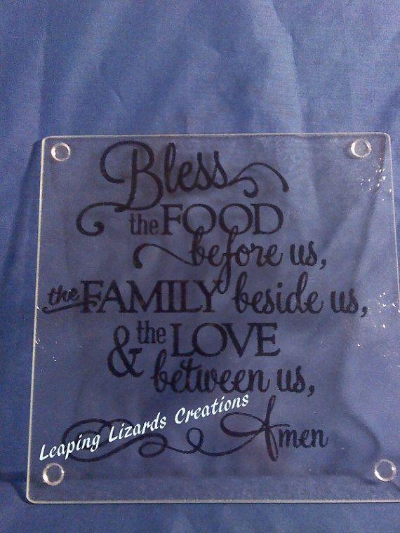 Glass Cutting Board by LeapingLizardsCreati on Etsy, $10.00