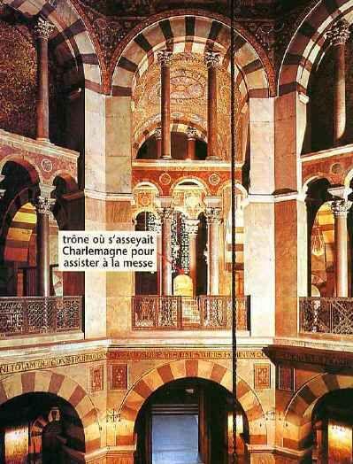 13 chapelle du palais d 39 aix la chapelle moyen ge 2 for Garage ad la chapelle bouexic