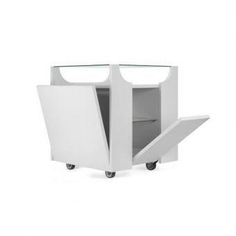 Carrello contenitore Cubovo - design Bruno Munari- Porro