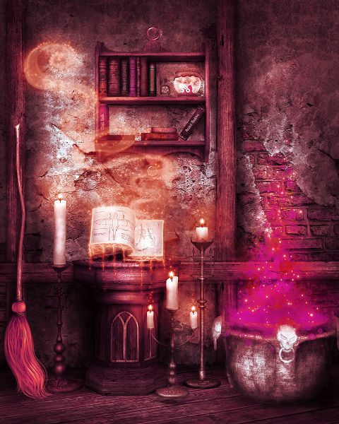 Find More Background Information about Photography Backdrops Candle Magic Broom  Halloween Backdrop…