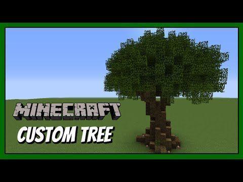 Minecraft Custom Trees Download Just Minecraft Tree Minecraft Buildings Minecraft