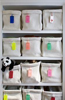 Ikea baskets for toy storage