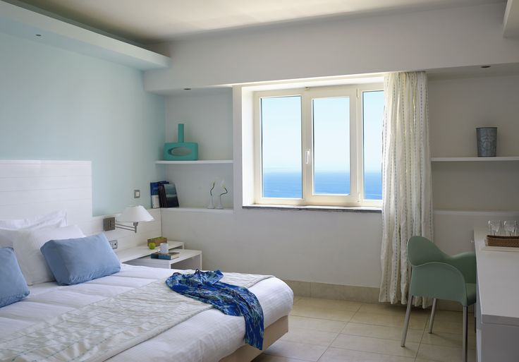 Light Blue Villa . Beautifully appointed villas with stunning Aegean Sea views on the hill above the Faliraki bay! Enjoy your stay in a villa where the Light Blue color dominates and is blending perfectly with the clear skies and the azure blue of the sea. The Light Blue Villa can accommodate up to 4 guests! Book Online at http://www.esperosvillas.gr/