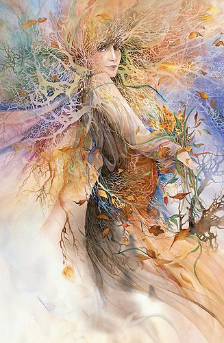 "Druids Trees:  ""#Dryad,"" by Helena Nelson-Reed."
