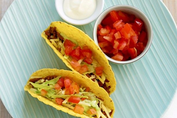 Make your tacos extra tasty with turkey as the main ingredient.