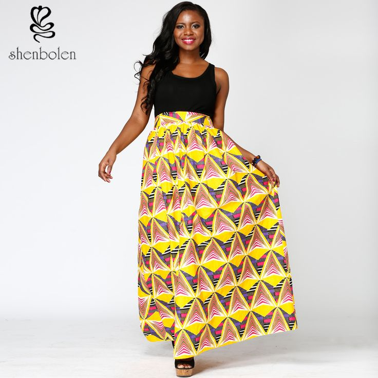 Elegant woman in 2017 African batik skirt tailor custom wedding/party * This is an AliExpress affiliate pin.  Find similar products on AliExpress website by clicking the VISIT button