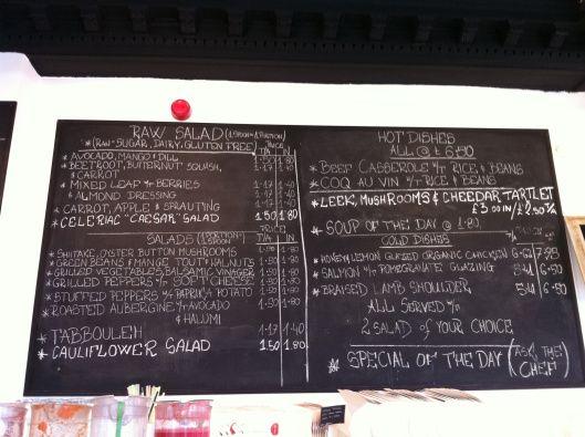 Foodilic menu on 28.6.13