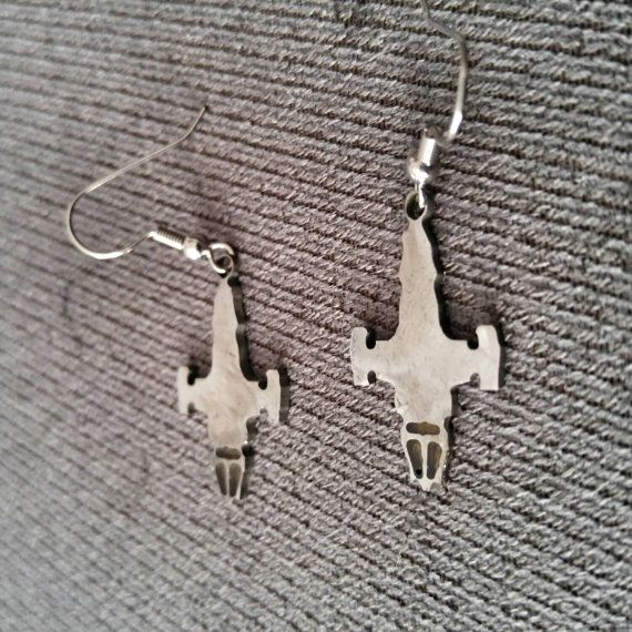 Serenity ship earrings (Firefly)