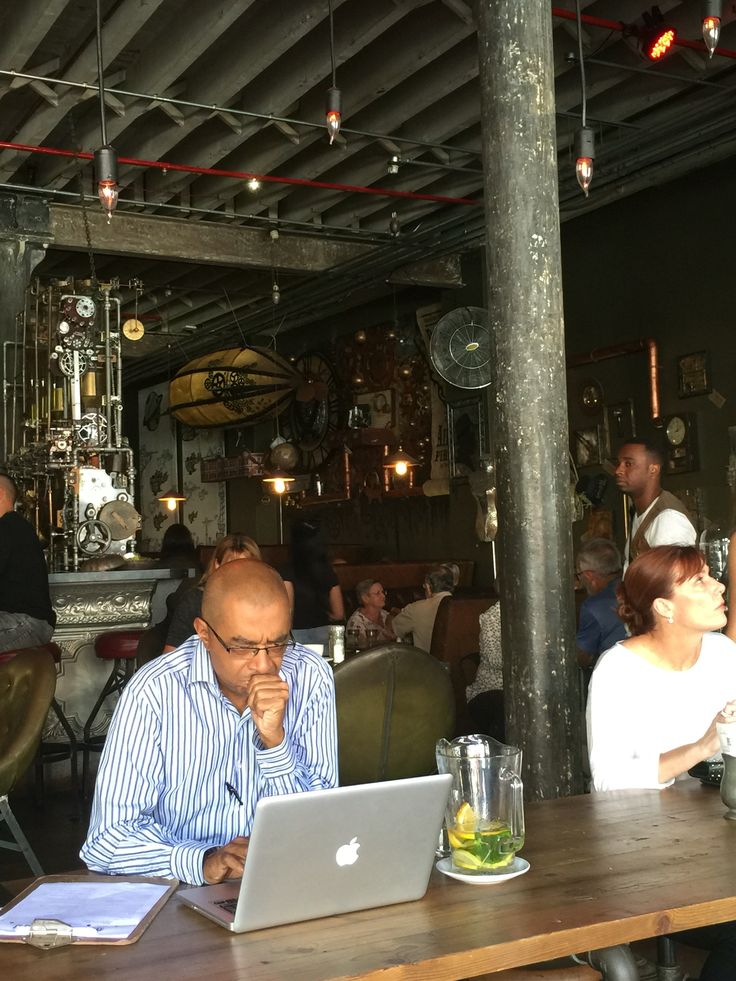 Truth Coffee #steampunk 36 Buitenkant Street Cape Town #capetown #citycentre