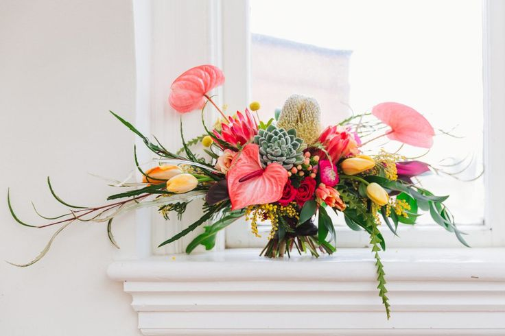 Bridal Bouquet; Wedding Bouquet; Colourful Flowers; Cocktails & Chill - Wedding Inspiration Gallery - Gina Humilde