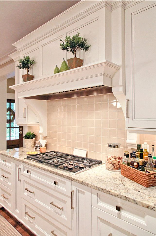 "Kitchen Countertop Ideas. Great Kitchen Countertop. #Kitchen #Granite #Countertop Countertop is granite, called ""Persia Avorio""."