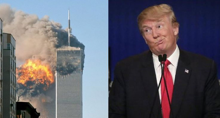 'New York de-valued': Conservative website claims Donald Trump never donated to 9/11 charities...so he is also a lying dickhead