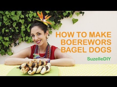 Suzelle DIY: How to make boerewors bagel dogs - All 4 Women