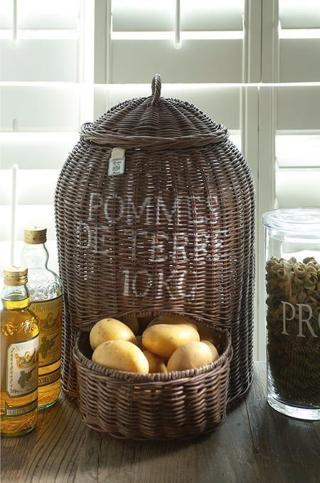 Cesta de almacenaje de patatas  - Potato Storage Baskets