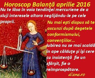 diane.ro: Horoscop Balanţă aprilie 2016