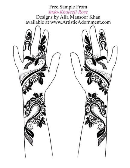 Mehndi Henna Kit Instructions : Images about henna designs on pinterest