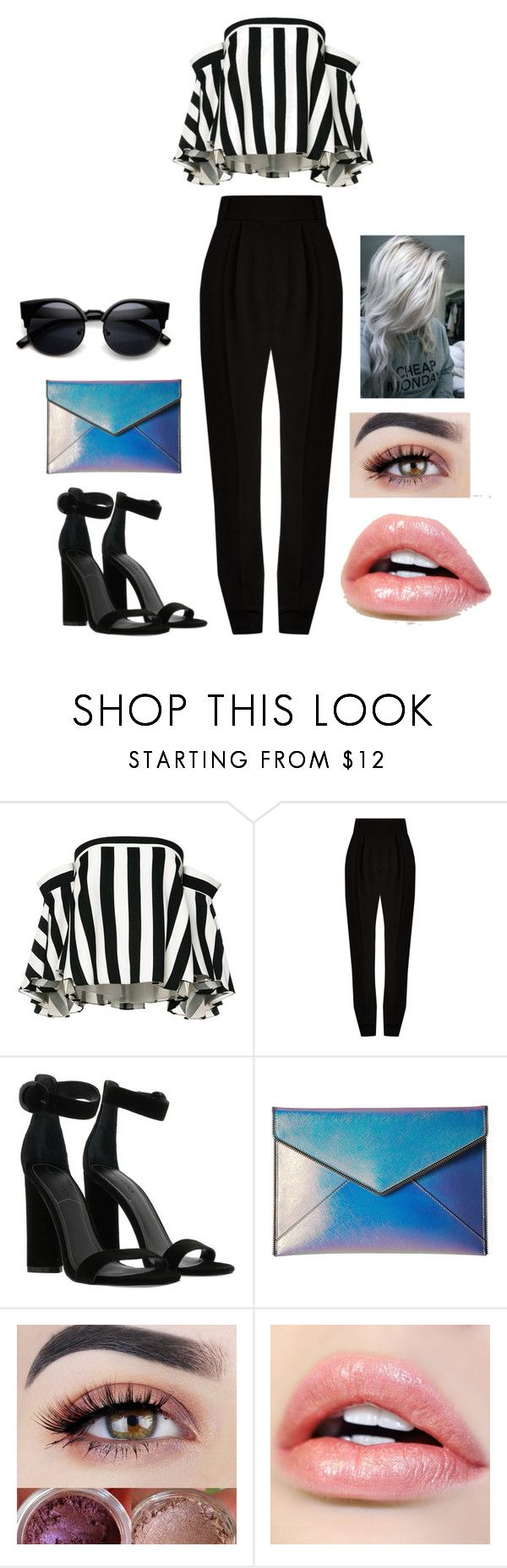 """""""Sin título #138"""" by jinxxy-biersack on Polyvore featuring Belleza, Milly, Haider Ackermann, Kendall + Kylie y Rebecca Minkoff"""