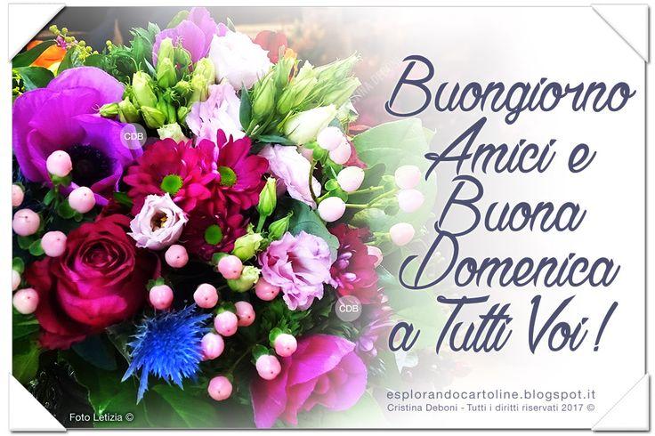CDB CARTOLINE Compleanno per Tutti i Gusti! : Cartolina Buongiorno Amici e BUONA DOMENICA a Tutt...