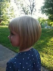 toddler angled bob haircut - Google Search