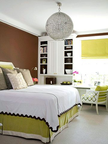 1000 ideas about green brown bedrooms on pinterest for Brown and lime green bedroom ideas