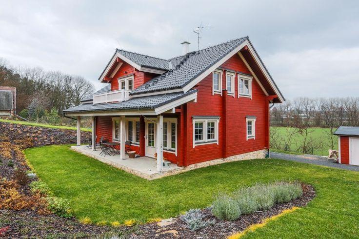 SRUBOVÝ DŮM - SEVER. ČECHY - Dřevěné sruby, srubové domy, dřevostavby z masivu a roubenky